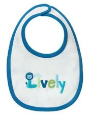 GYMBOREE BRAND NEW BABY LION L is for Lively REVERSIBLE BIB NWT