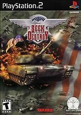 Seek and Destroy (Sony PlayStation 2, 2002) Reated T for Teen