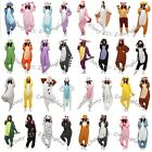 HOT Unisex Adult Onesies Kigurumi Pajamas Anime Cosplay Costume Dress Sleepwear