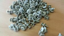 75 x Vw Volkswagen T4 / T5 transporter interior trim panel clips (light grey)