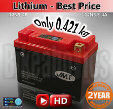 LITHIUM - Best Price - Kawasaki KH 250 B Li-ion Battery save 2kg