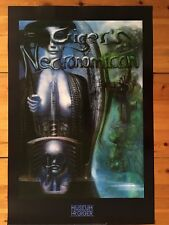 H.R GIGER:NECRONOMICON,1976, AUTHENTIC 1998 POSTER