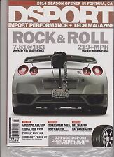 DSPORT MAGAZINE #143 JULY 2014, SEALED WITH 2014 WHEEL & TIRE BUYER'S GUIDE.