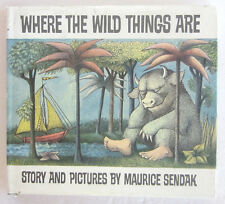WHERE THE WILD THINGS ARE Maurice Sendak HBDJ 25th Anniversary Book
