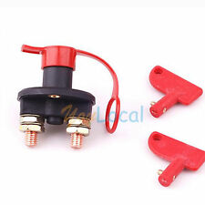 RACING BATTERY KILL SWITCH CUT-OFF POWER DISCONNECT 12V 200 AMP BREAKER CAR BOAT