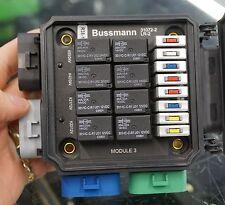 BUSSMANN LR-2 LMTV RELAY BREAKER BLOCK 301-1C-C-R1 U01 U02 12V 14V 24V DC SONG