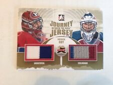 Patrick Roy cards (?/10) 11-12 #JJ13 Between The Pipes Journey Dual Jerseys Gold