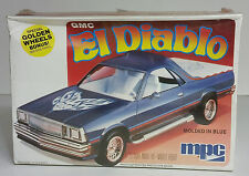 NEW IN BOX Sealed 1980 GMC El Diablo MPC 1/25 Scale Model Kit 1-0754 Blue 1979
