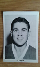 1961 Leaf Bobby Collins Everton Black & White Footballers Card