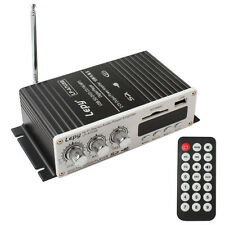 Fernbedienung 100W USB Mini Auto Stereo Verstärker Amplifier DVD MMC CD FM MP3