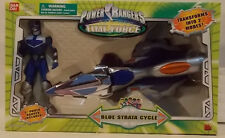 Power Rangers Time Force Transforming Strata Cycle with Blue Ranger Bandai MISB