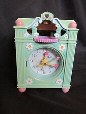 Vintage Bluebird Polly Pocket Fun Time Clock Play Set. Light Blue 1991 Working!!