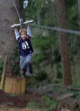 200' Zip Line Kit, Trolley, Cable Ride, High Quality Zipline, 11th Year on Ebay!