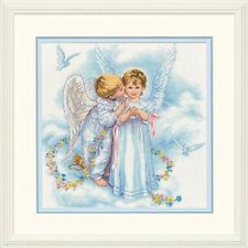 Dimensions D35134 | Angel Kisses Picture Counted Cross Stitch Kit | 30 x 30cm