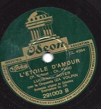 Lucienne BOYER chante chansons: l'Etoile d amour + si petite