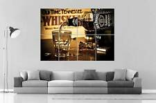 WHISKY JACK DANIELS MOMENT  Wall Art Poster Grand format A0 Large Print