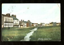 Cumbria ALLONBY looking west 1905 PPC