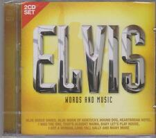 ELVIS PRESLEY - WORDS AND MUSIC on 2 CD's - NEW -