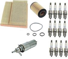 Mercedes W163 ML320 98-01 Tune Up Kit Air Fuel Oil Paper Filter NGK Spark Plugs