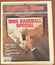 APRIL 14, 1986 SPORTING NEWS  THE BASEBALL ISSUE