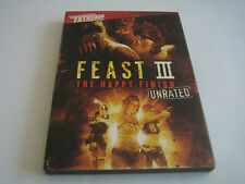 DVD FEAST III THE HAPPY FINISH WITH SLIP COVER***DIMENSION EXTREME***
