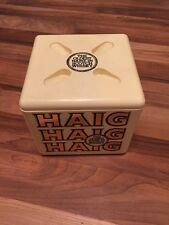 Fabulous Vintage Plastic Haig Whiskey Ice Bucket