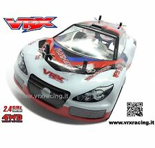 FLASH RALLY EBL 1:16 ON ROAD MOTORE ELETTRICO BRUSHLESS 4200KV 2.4 4WD RTR VRX