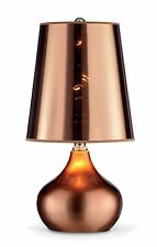 """New 18""""H Luster Rose Gold Table Lamp"""