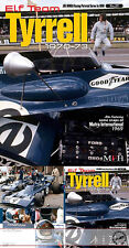 TYRRELL 001 006 STEWART '70-'73 REF PICTURE BOOK for TAMIYA EBBRO 1/12 1/20