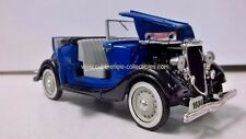National Motor Museum Mint 1934 Ford V8 Roadster in Blue 1:32 Loose Car, As is