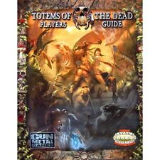Totems of the Dead Players Guide Savage Worlds RPG Cubicle 7 Softcover