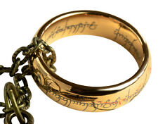 Lord of the Rings Ring, Hobbit Ring, One Ring with gift pouch and box