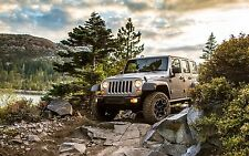 "Jeep Wrangler Rubicon - 42"" x 24"" LARGE WALL POSTER PRINT NEW"