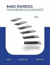 Basic Statistics for Business and Economics by Lind Marchel Wathen