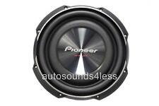 "Pioneer TS-SW2502S4 1200 Watts 10"" Single 4 Ohm Shallow Mount Truck Subwoofer"