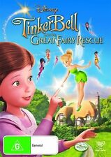TINKER BELL AND THE GREAT FAIRY RESCUE (DVD, 2010) BRAND NEW - DISNEY MOVIE