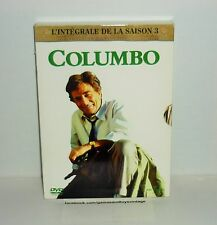 COFFRET 4 DVD VIDEO COLUMBO L'INTEGRALE DE LA SAISON 3