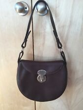 RALPH LAUREN COLLECTION ITALY Ricky style clasp Leather shoulderbag Purse
