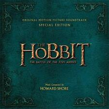 HOBBIT BATTLE OF THE FIVE ARMIES SOUNDTRACK DELUXE 2 CD DIGIPAK Softpack NEW