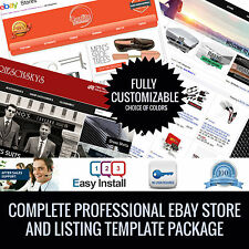 Ebay Template Store and Listing Template banner slider and gallery any business!