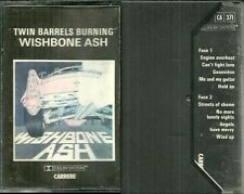 K7 AUDIO / TAPE - WISHBONE ASH : TWIN BARRELS BURNING
