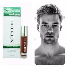 Cheveox Facial Hair Growth, Eyebrows, Beard, Sideburns Stimutants Serum Roll-on