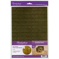Crafts Cards Paper Mirri Textures A4 Specialty Cardstock Golden Sunset Gold