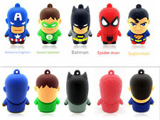 5PCS/LOT Cute Cartoon Hero USB 2.0 8GB flash drive memory stick disk pendrive