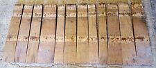 1/2 Barrel Staves, set of 12 solid oak staves for your projects