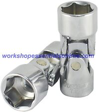 """18mm 3/8"""" drive universal joint socket trident T121818 free p&p"""