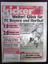 kicker Sportmagazin Nr.: 89/ 44. Woche  vom 4.11.1999