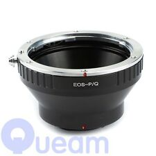 Canon EOS EF Lens to Pentax Q Camera Adapter Ring without Tripod Mount Q10 Q7