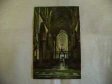 POSTCARD SALISBURY CATHEDRAL CHOIR WEST, CHRISTIAN NOVELS PUBLISHING CO, DIVIDED