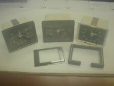 KEINZLE CLOCKS FOR JAGUAR & OTHERS, SET OF 3, INOPERATIVE-FOR PARTS OR REPAIR